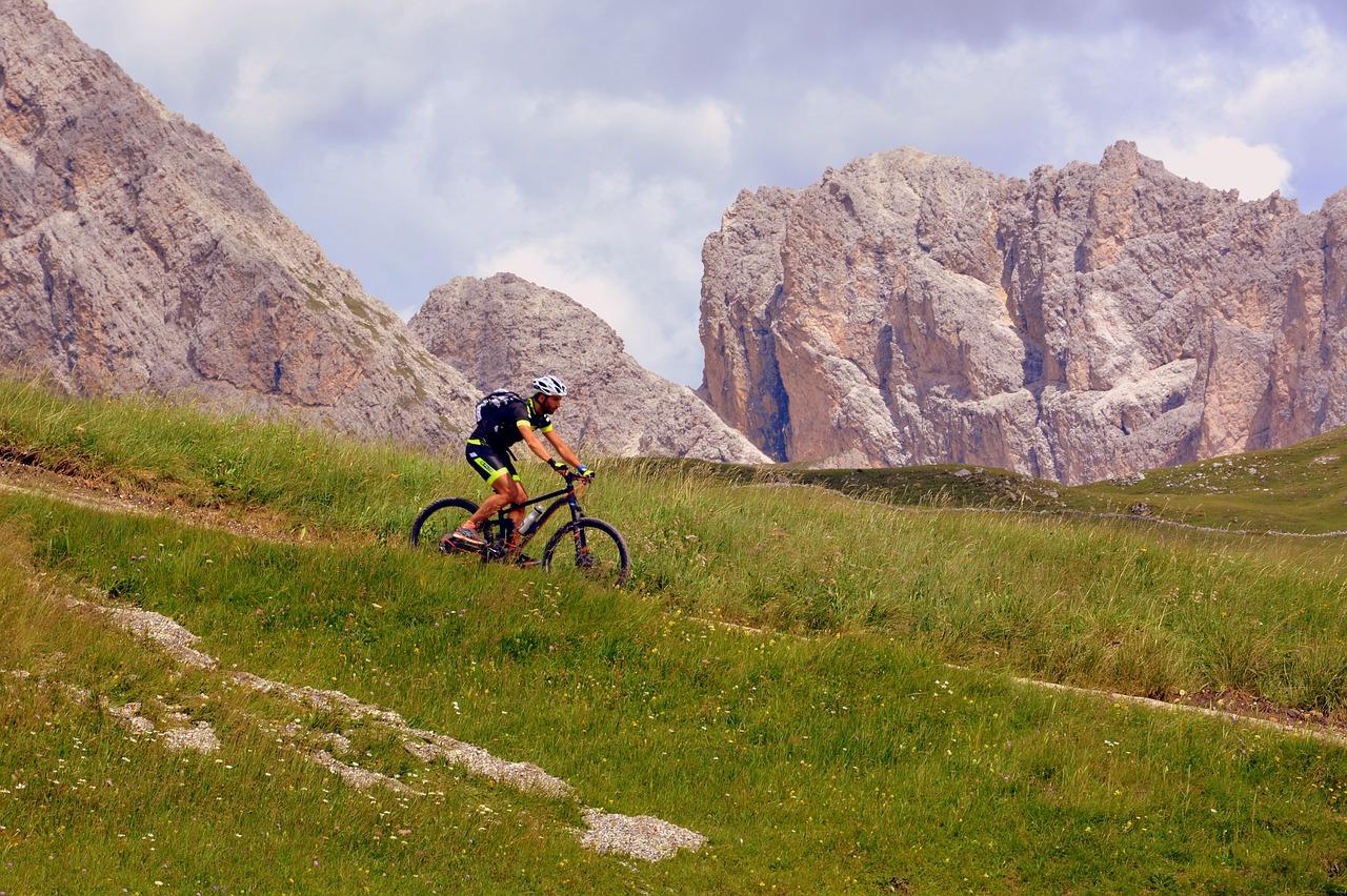 bicycle, hiking, mountain biking